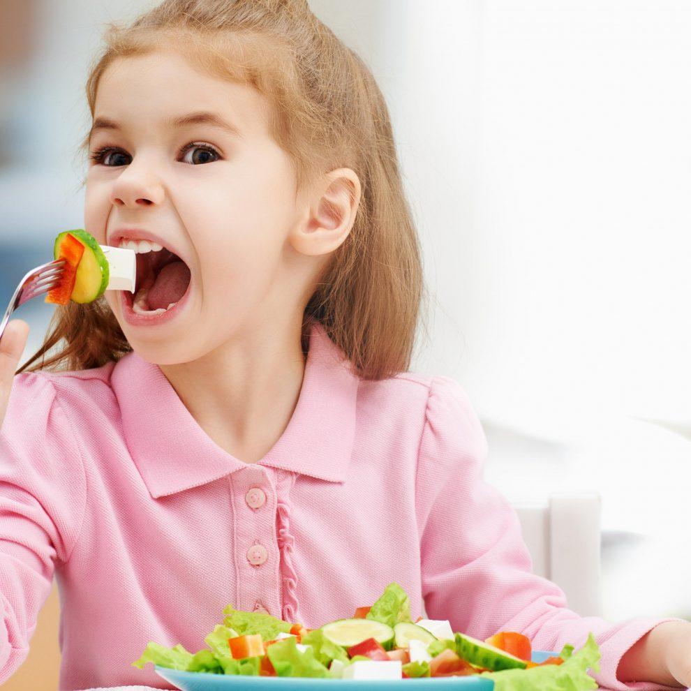 אוכל בריא לילדים